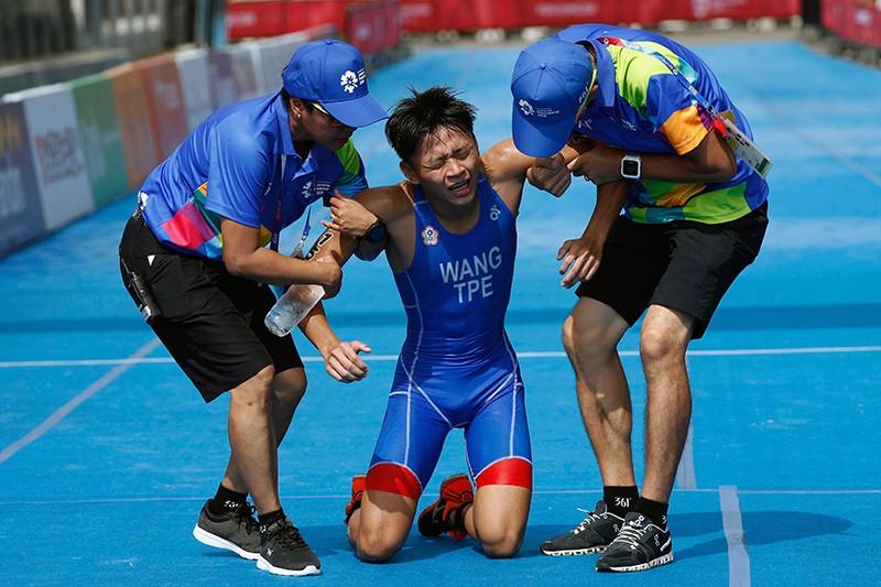 การเฝ้าระวัง อาการบาดเจ็บที่มักจะเกิดขึ้นกับนักไตรกีฬา